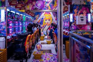 Influence of anime on slots